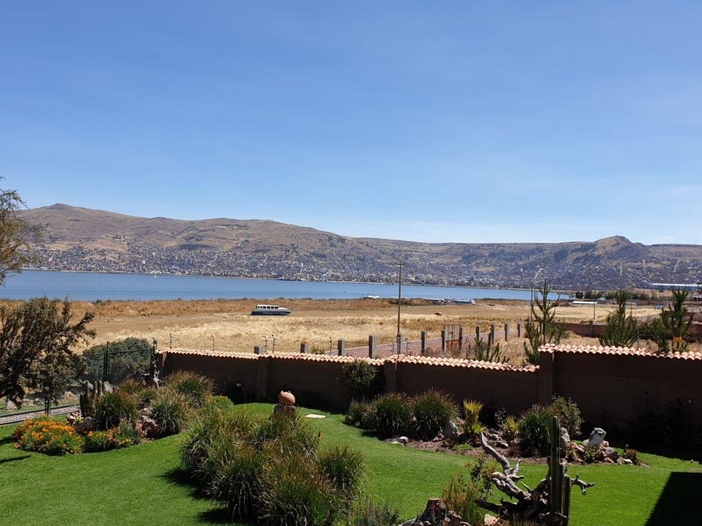 Views of Lake Titicaca from Casa Andina Premium Puno