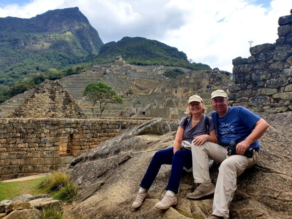 Alan & Kay explore Machu Picchu